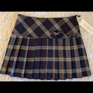 Plaid Sexy School Girl Skirt